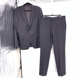 Brooks Brothers 1818 Regent Mens Suit Wool 40R W34